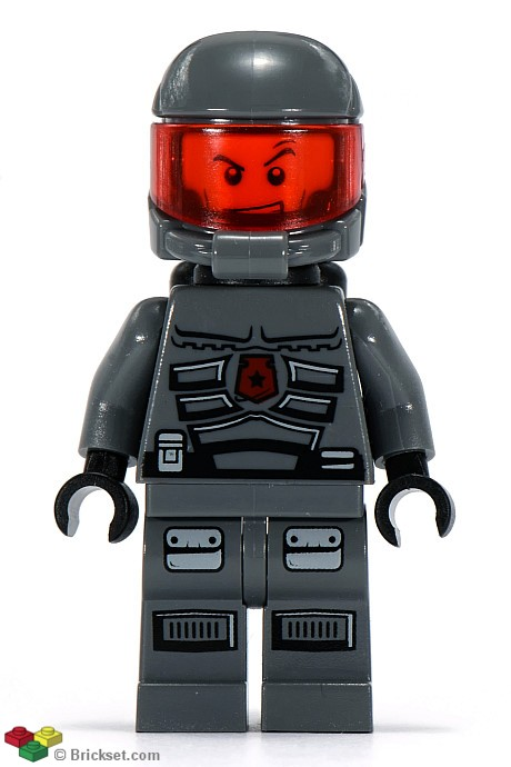 LEGO Space Police 3 Brick Daddy Alien MINIFIG // MINI FIGURE