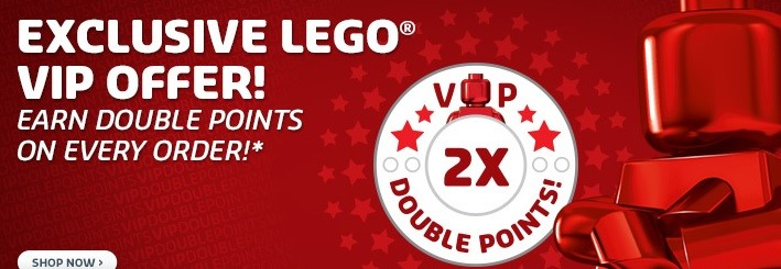 Double VIP points at shop.LEGO.com   Brickset: LEGO set guide and ...