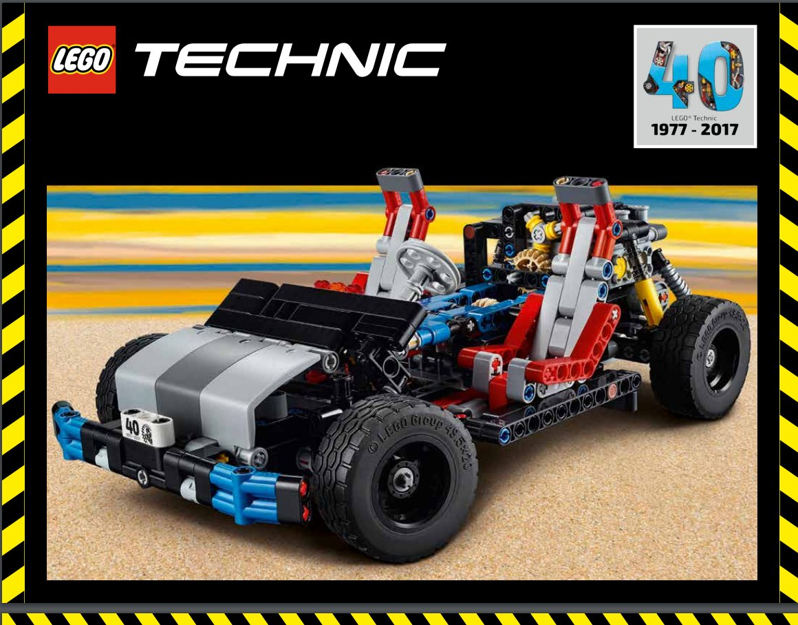 technic 40th anniversary model building instructions now available brickset lego set guide. Black Bedroom Furniture Sets. Home Design Ideas