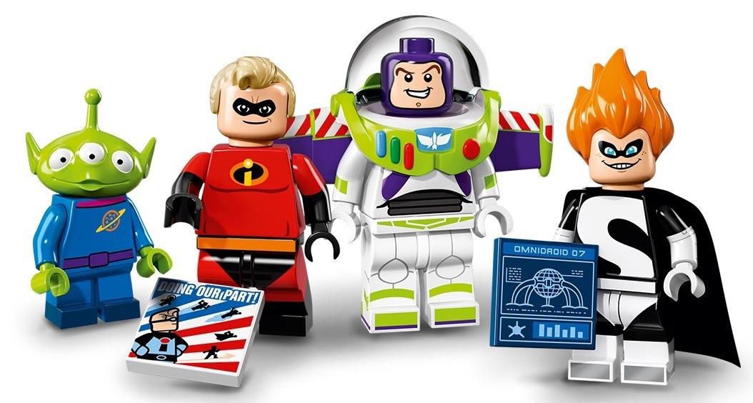 Pixar Minifigs