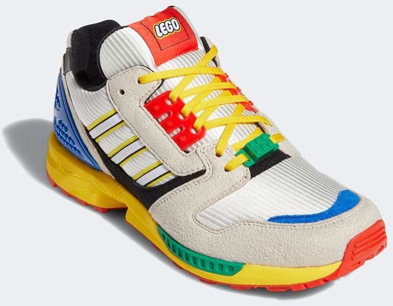 Official images of Adidas LEGO trainers