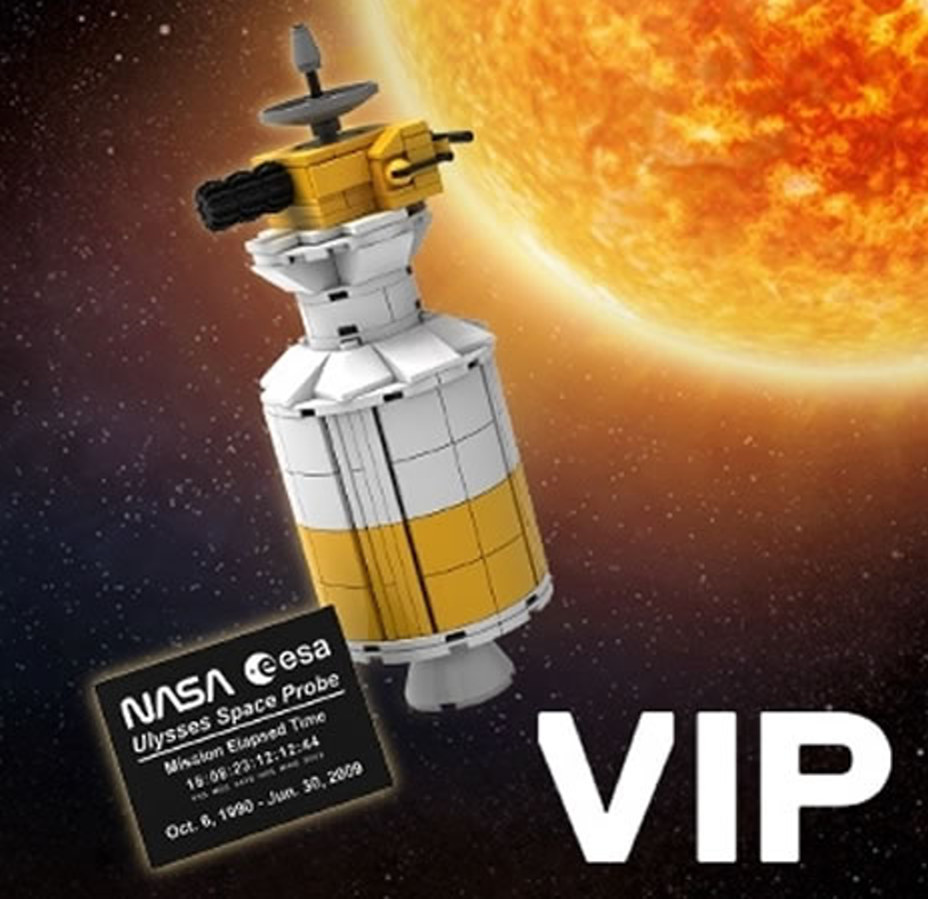 Ulysses space probe VIP reward available soon