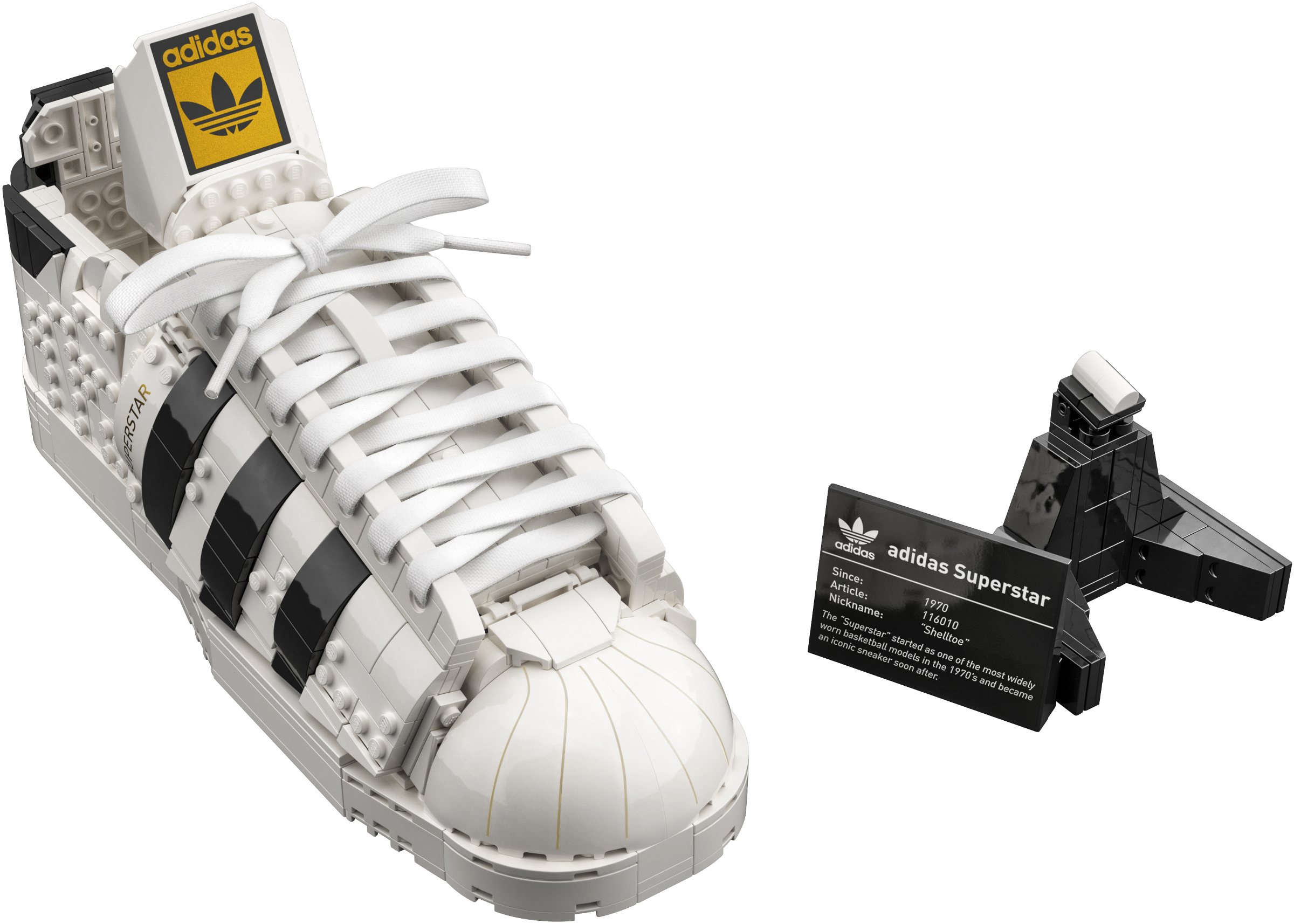 Adidas buildable trainer revealed!   Brickset: LEGO set guide and ...