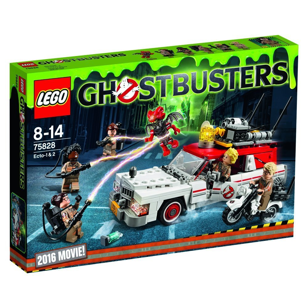 75828 ghostbusters ecto 1 2 box art revealed brickset. Black Bedroom Furniture Sets. Home Design Ideas