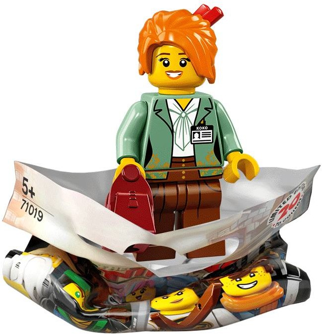 Ninjago Movie Collectable Minifigures Revealed Brickset Lego Set