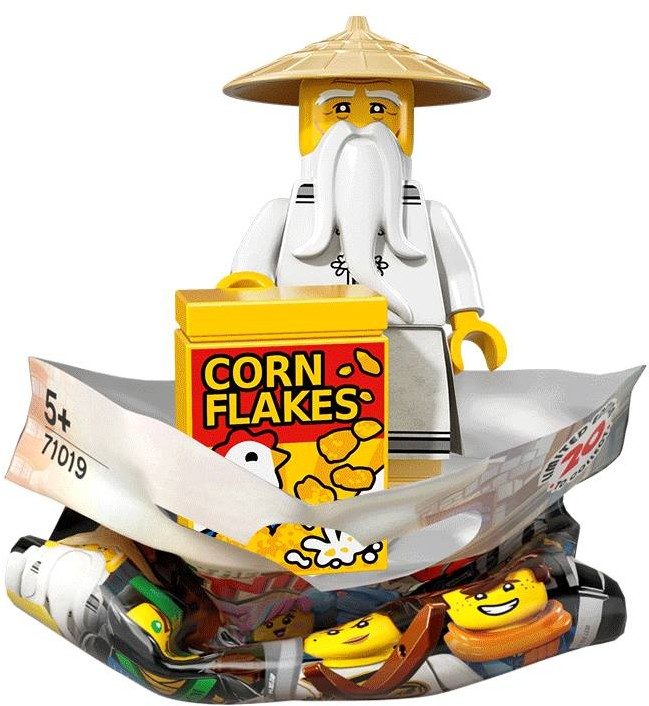 Ninjago Movie Collectable minifigures revealed