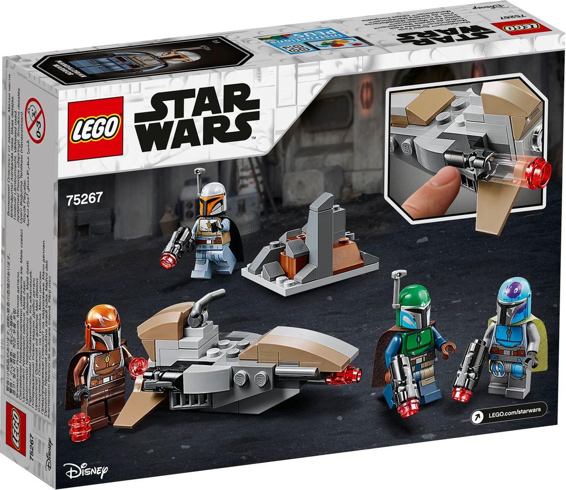 NEW LEGO Star Wars Mandalorian w// blaster weapon /& Jetpack