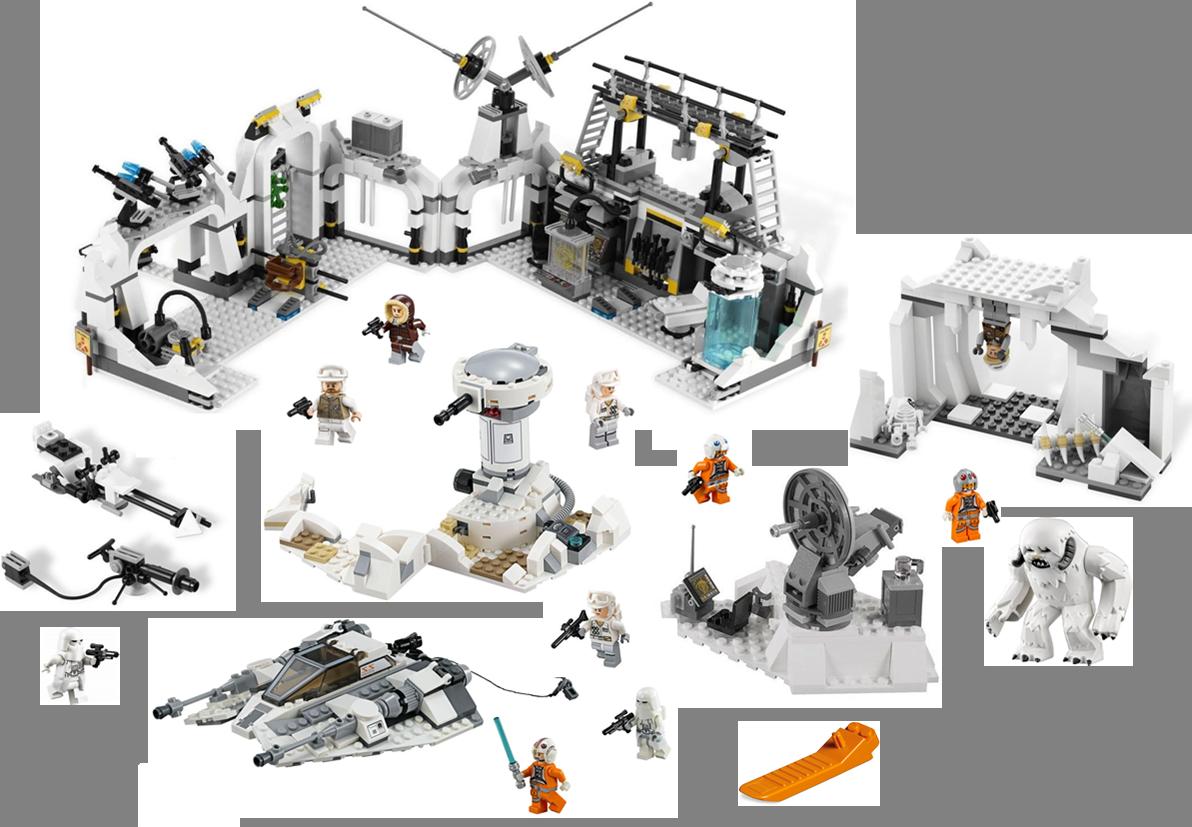 Review 7538491478894966 Assault On Echo Rebel Wampa Snowspeeder Lego 75098 Star Wars Hoth Base