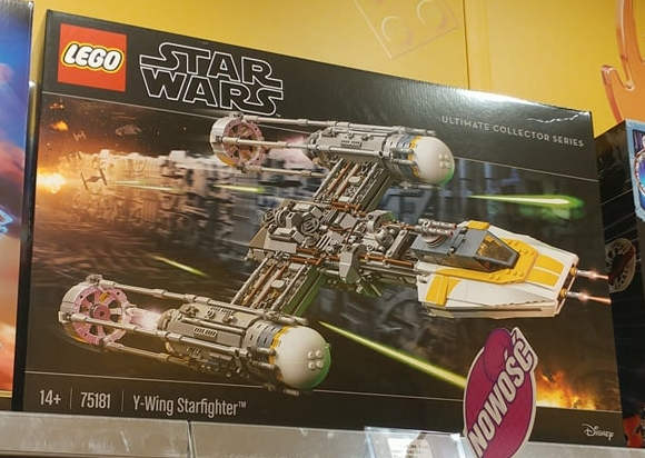 UCS Y-wing Starfighter revealed in Polish certified store   Brickset ...