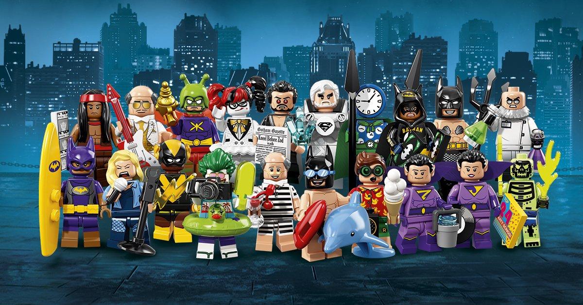 The Lego Batman Movie Cmf Series 2 Revealed Brickset Lego Set