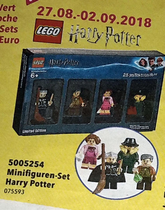 LEGO Harry Potter Bricktober Minifigures 4 Pack 5005254   Free Shipping
