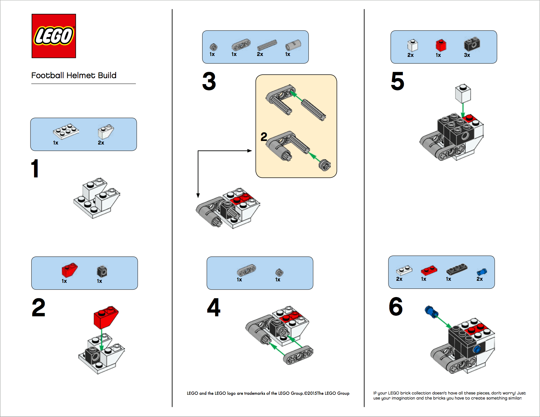Its The Super Bowl Brickset Lego Set Guide And Database
