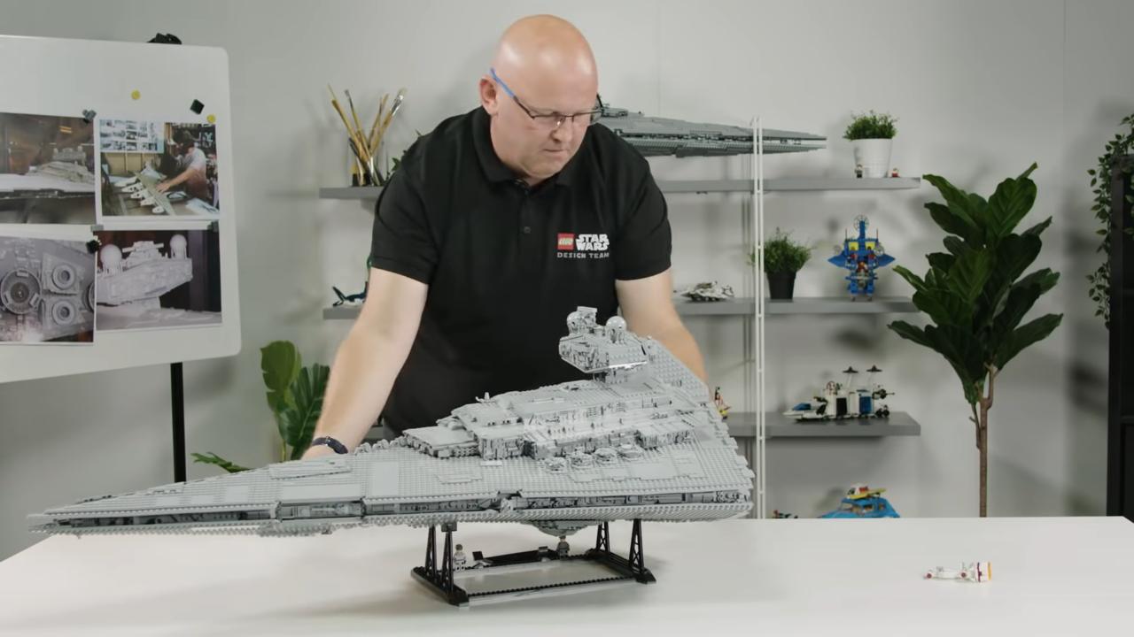 Interview with Henrik Andersen, designer of 75252 Imperial Star Destroyer