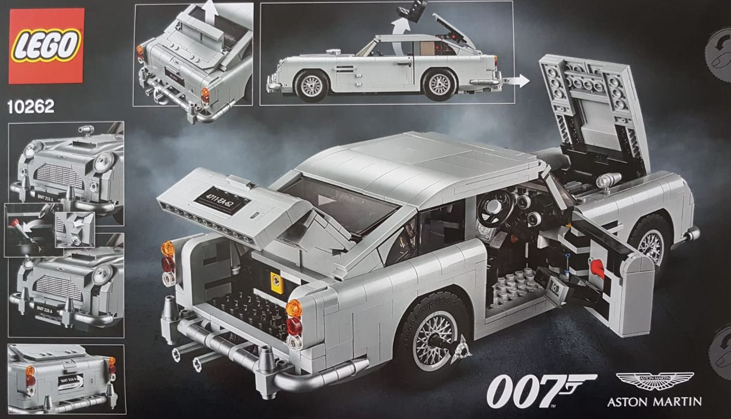 10262 Aston Martin Db5 Revealed Brickset Lego Set Guide
