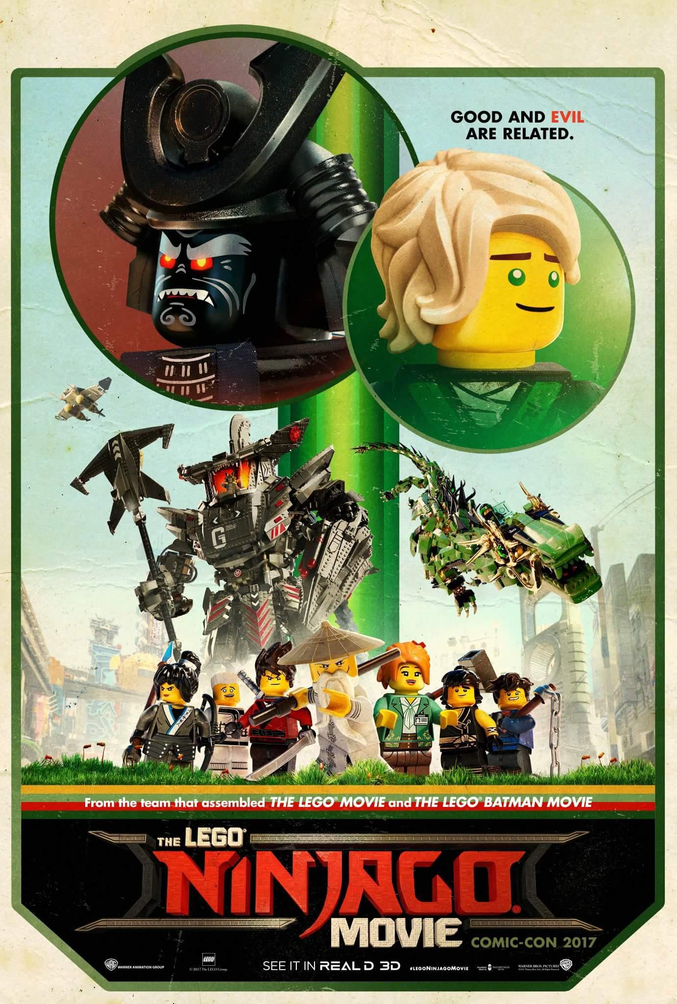 The LEGO NINJAGO Movie trailer #2 released! | Brickset ...