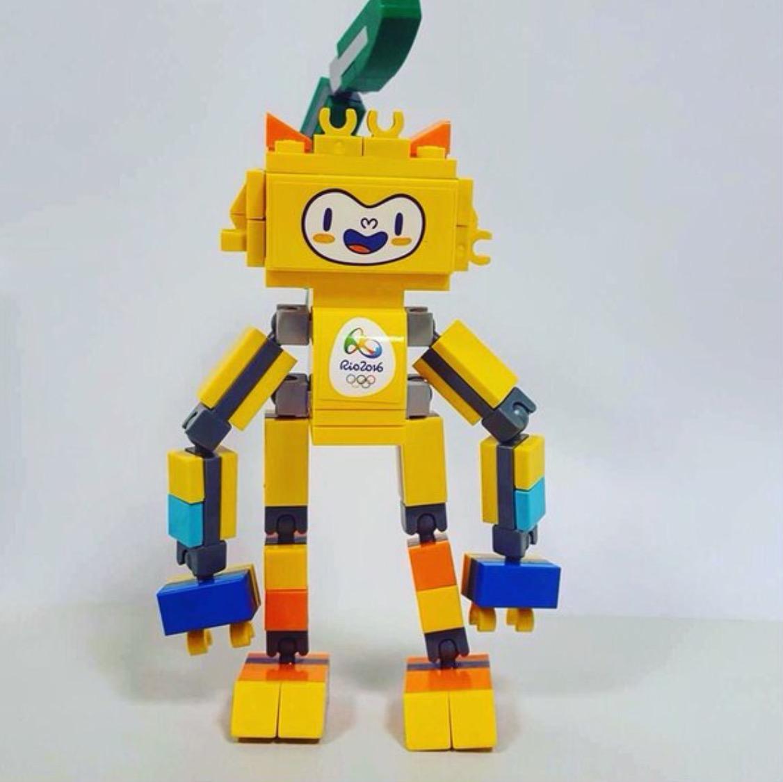 40225 Rio 2016 Olympic Mascots  a closer look  Brickset LEGO