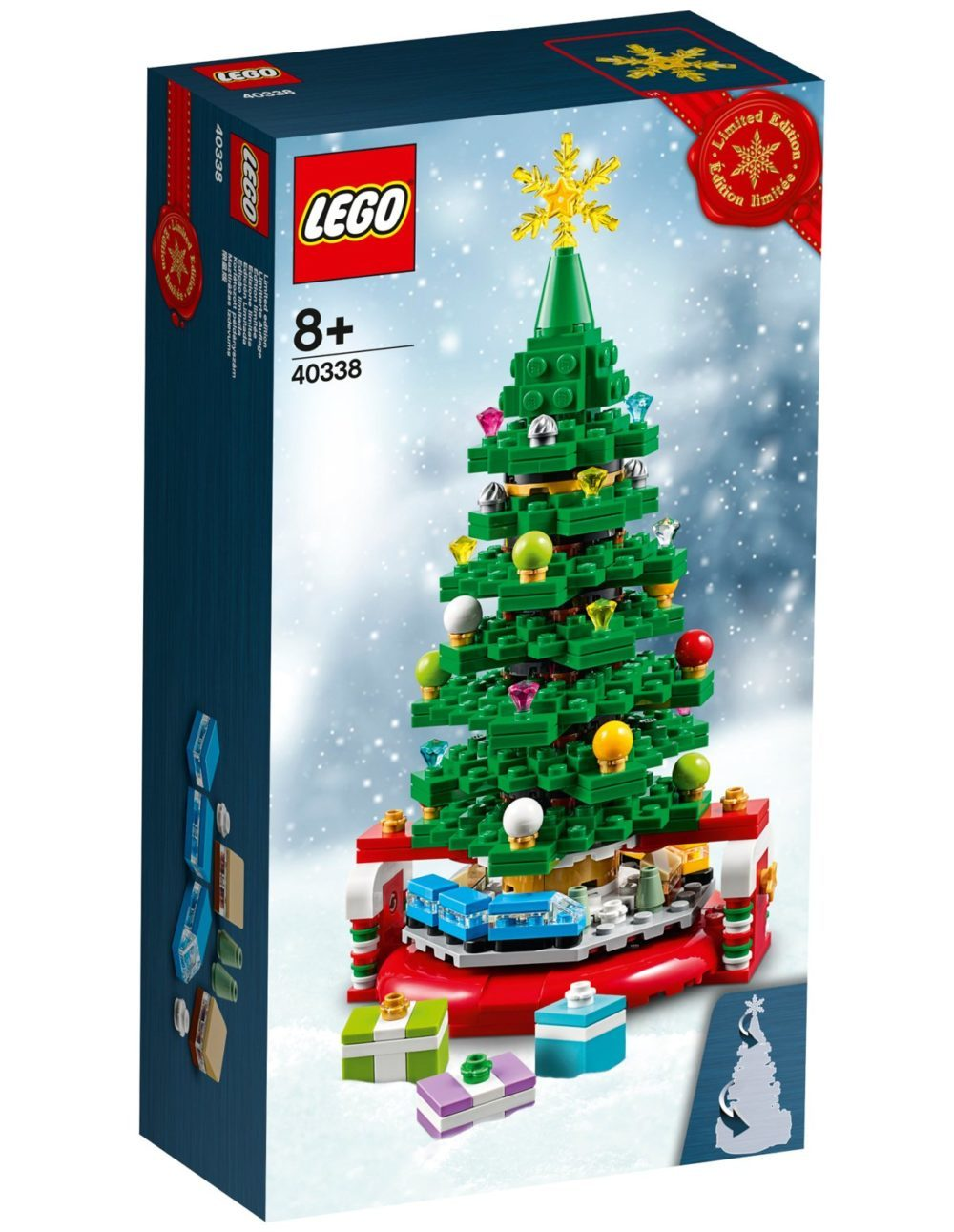 Christmas Set.First Christmas Gwp Revealed Brickset Lego Set Guide And