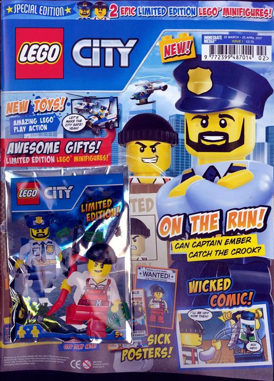 city magazine now in newsagents brickset lego set guide. Black Bedroom Furniture Sets. Home Design Ideas
