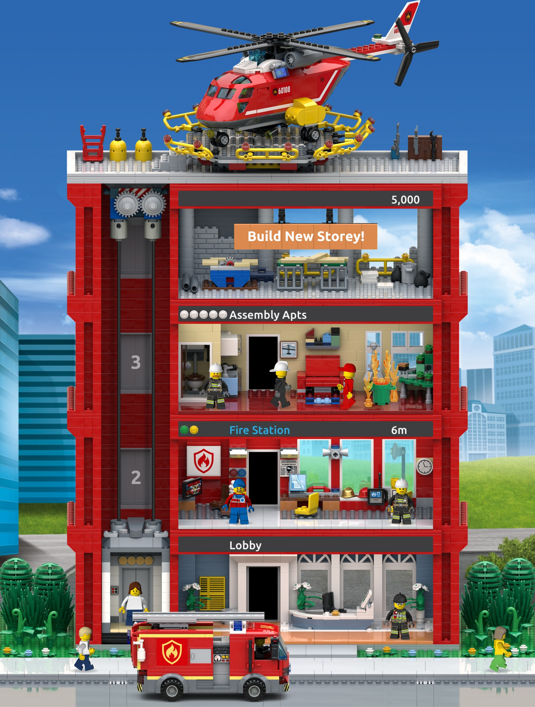 LEGO Tower mobile game announced | Brickset: LEGO set guide and database