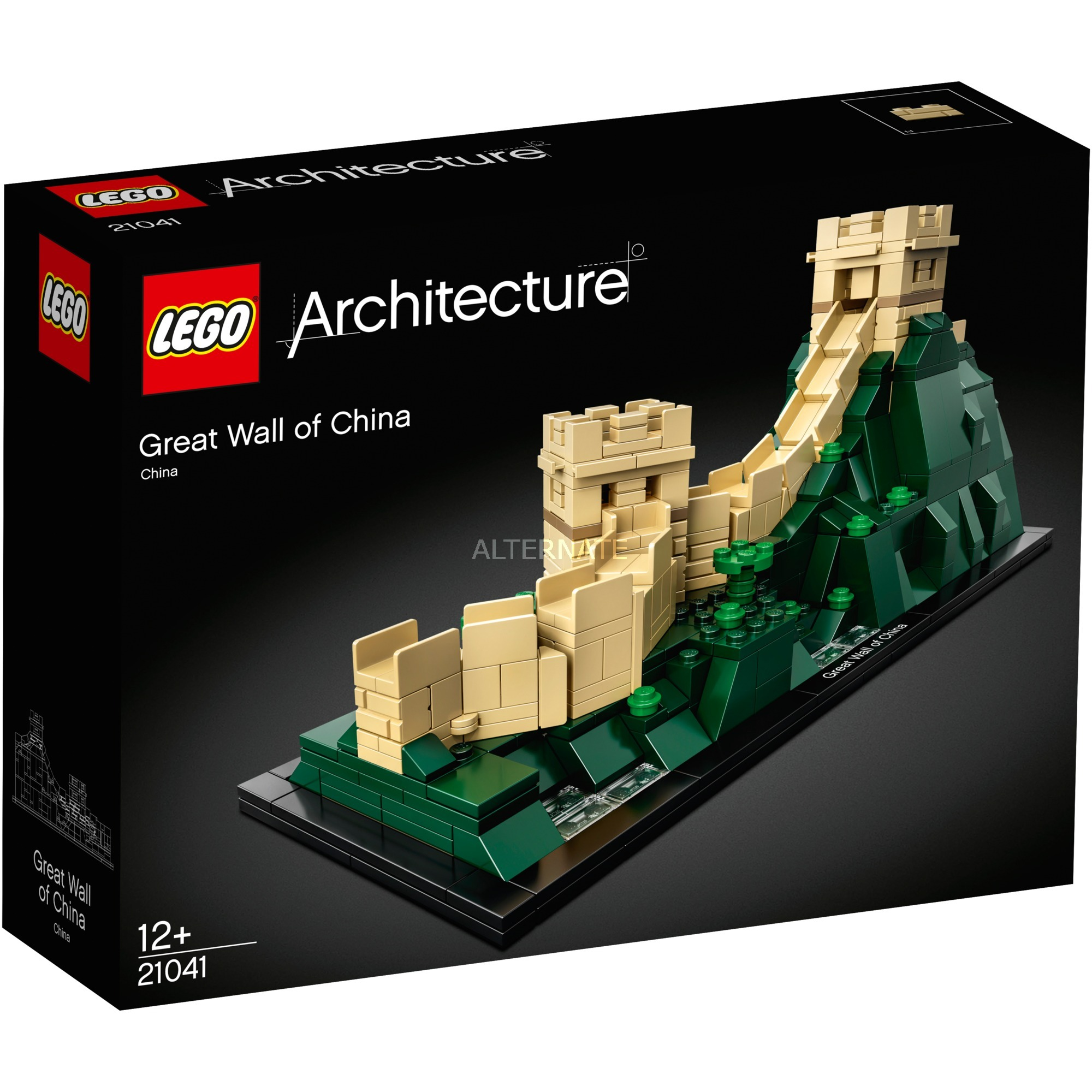 Great wall of china unearthed too brickset lego set for Architecture 2018