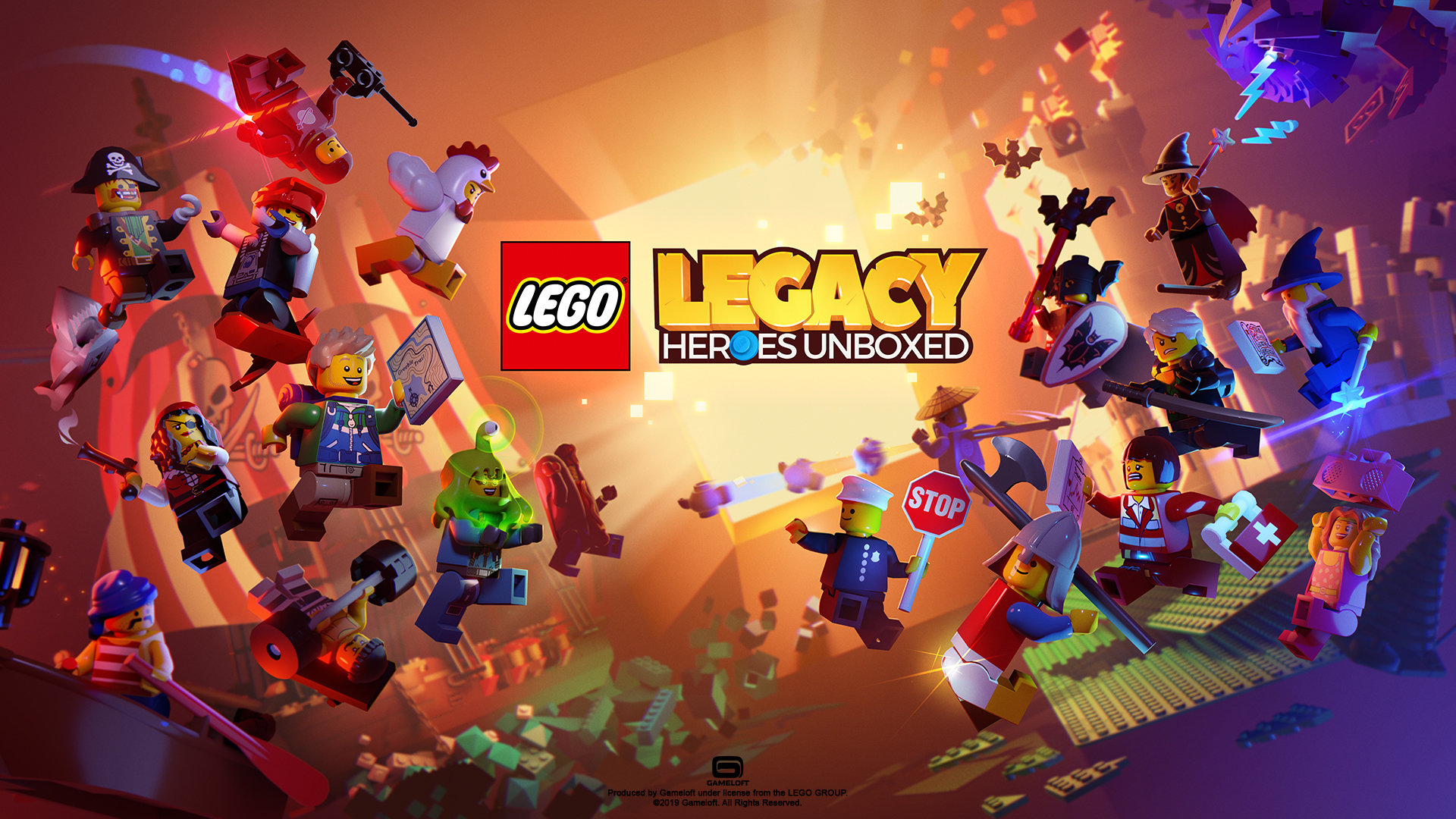 LEGO Legacy pre-registration begins today