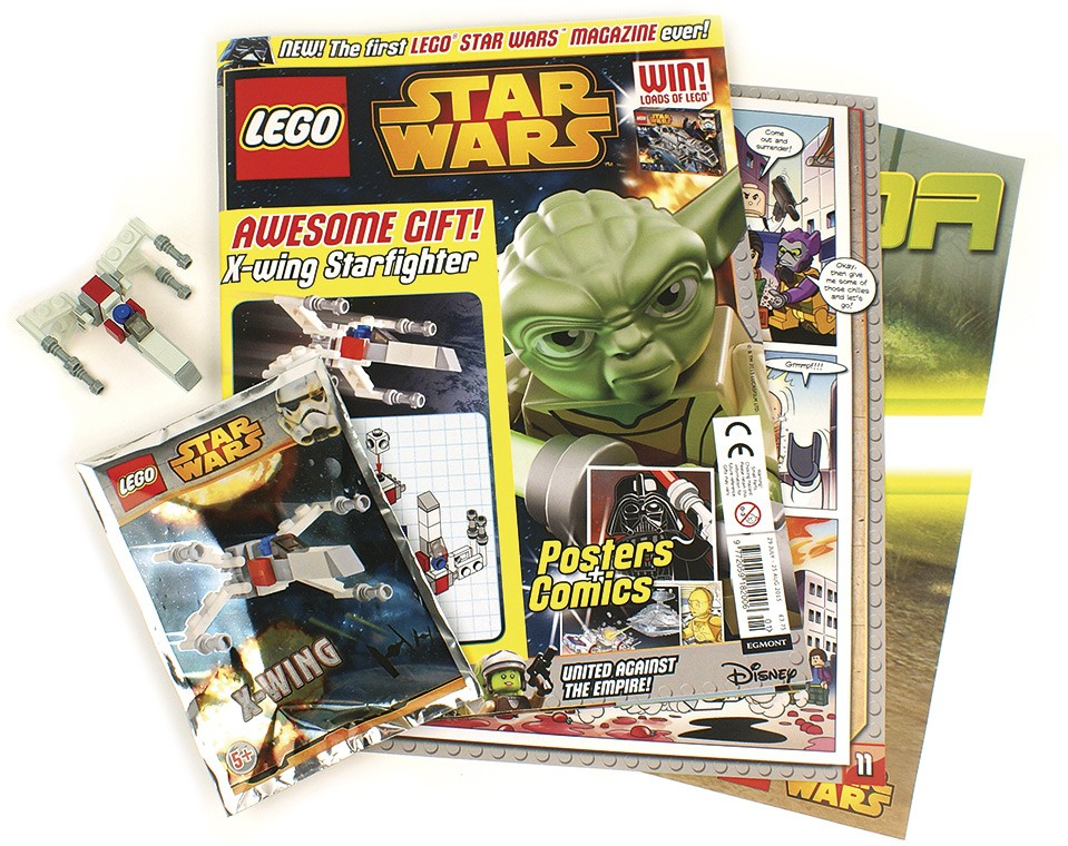 Egmont Publishing launches LEGO Star Wars comic | Brickset: LEGO set ...