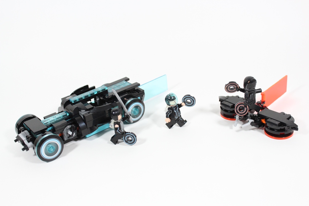 21314 TRON: Legacy alternative model from BrickBros UK
