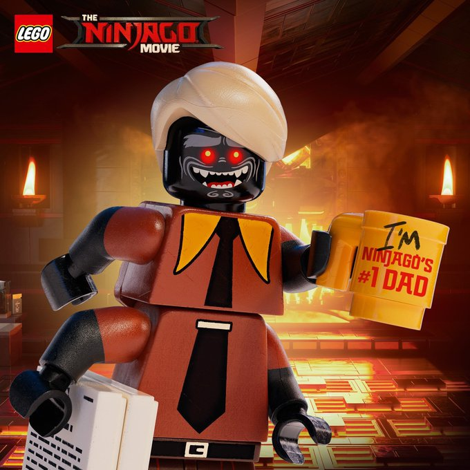 a father u0026 39 s day surprise from the ninjago movie