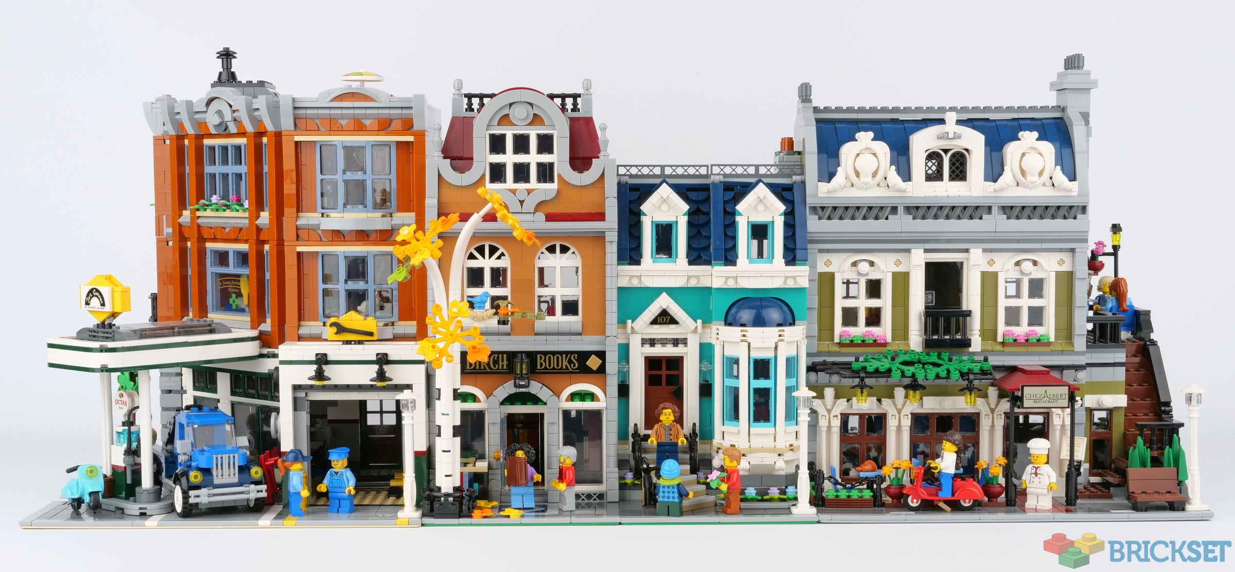 Here S The Bookshop Next To Other Modular Buildings