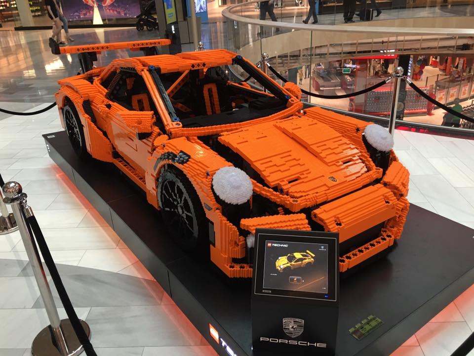 Full-sized Porsche 911 GT3 RS model in Sweden | Brickset ...