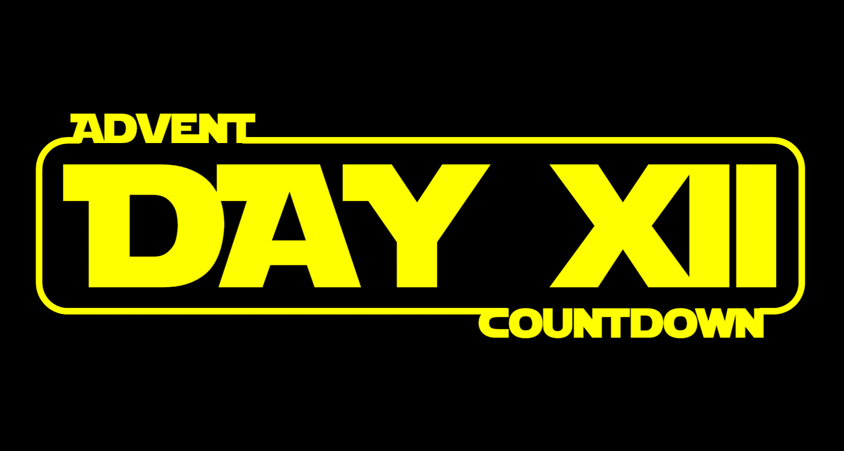 Star Wars Advent Calendar - Day 12