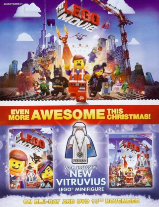 The Lego Movie Minifigure Edition Released Next Week In The Uk