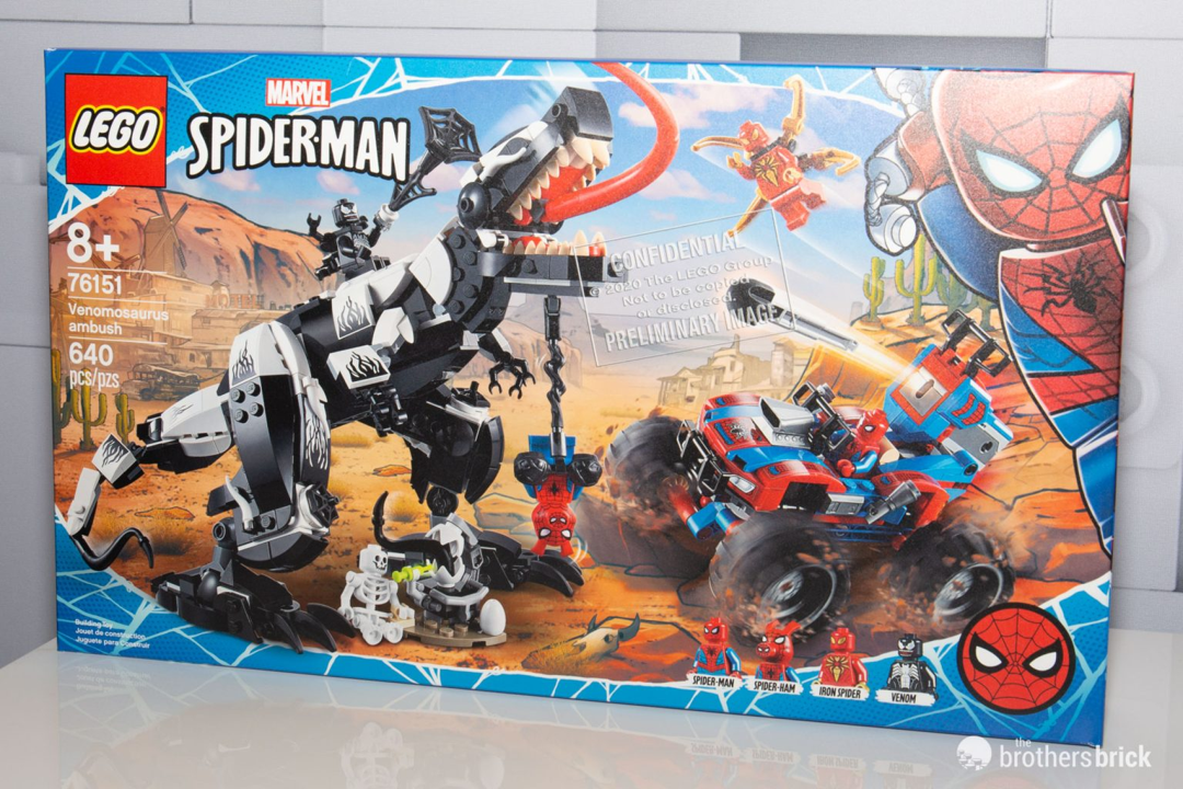 2020 Venom Spider-Man Venom Anti-Venom Superhero Marvel Minifigure Fit Lego