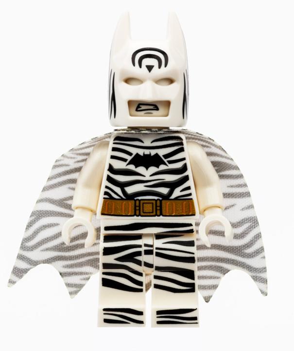 Zebra Batman SDCC minifigure revealed!