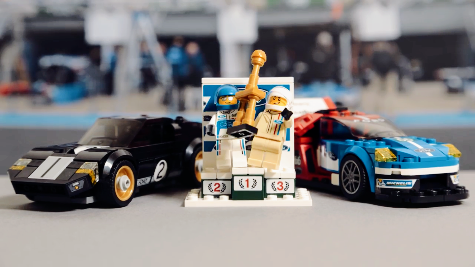 The Iconic Ford Gt And New Ford Gt That Won Le Mans  Hours In  Are Being Brought To Life In Lego Bricks