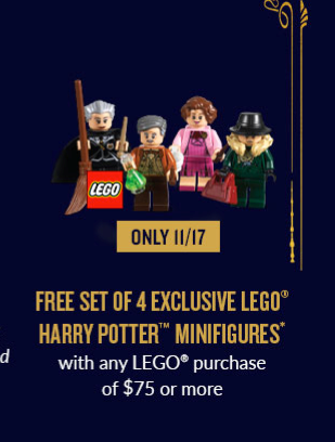 Us Bricktober Harry Potter Minifigures One Day Only Brickset Lego Set Guide And Database