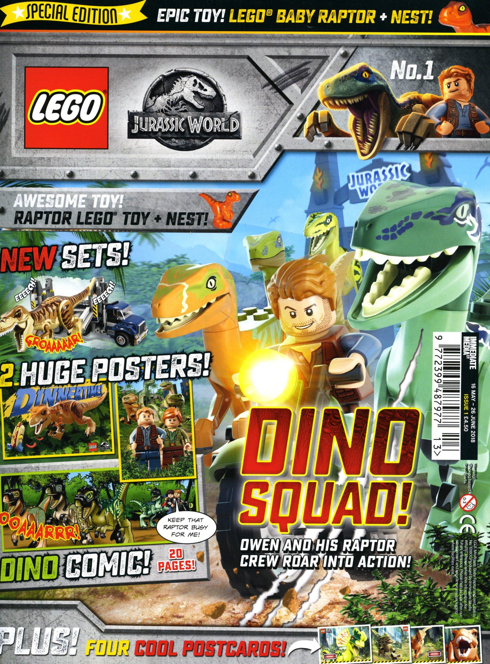 LEGO Jurassic World comic out today | Brickset: LEGO set