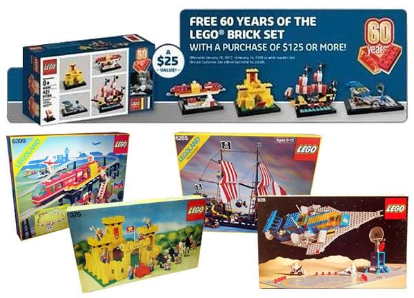 60 years of the LEGO Brick set revealed | Brickset: LEGO set guide ...