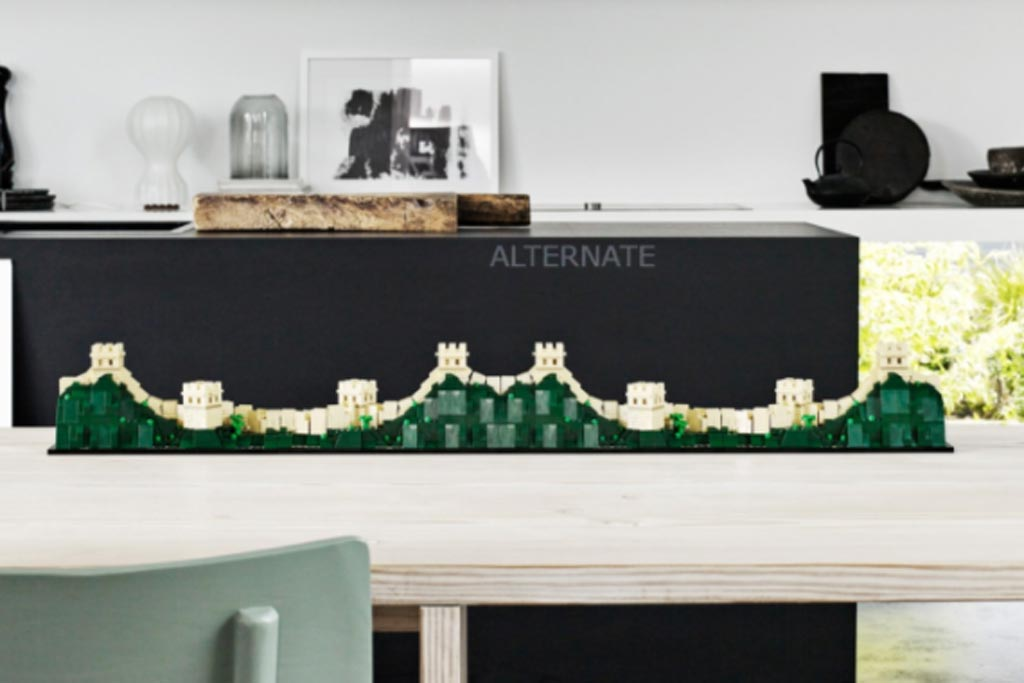 great wall of china unearthed too brickset lego set guide and database. Black Bedroom Furniture Sets. Home Design Ideas
