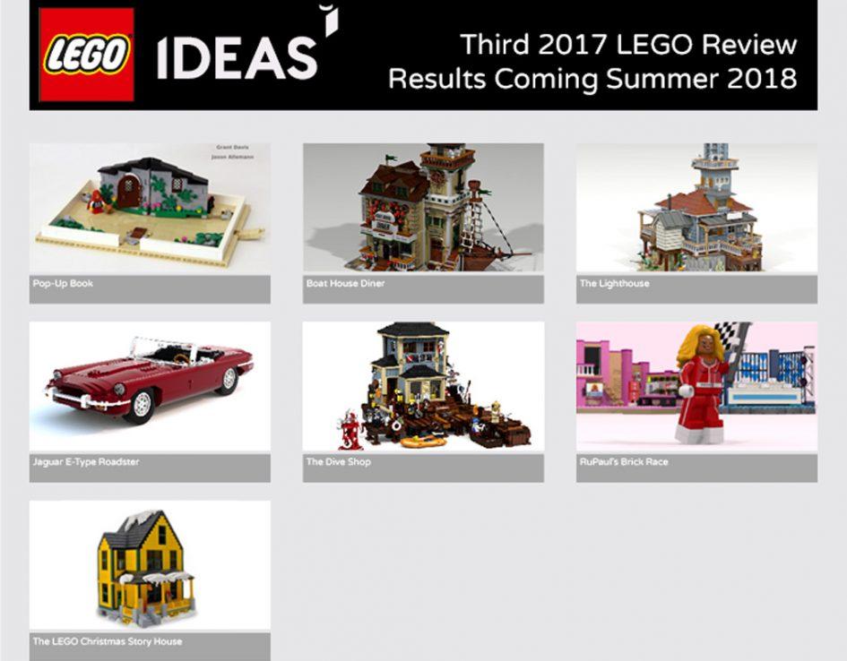 Ship in a bottle washing up soon | Brickset: LEGO set guide