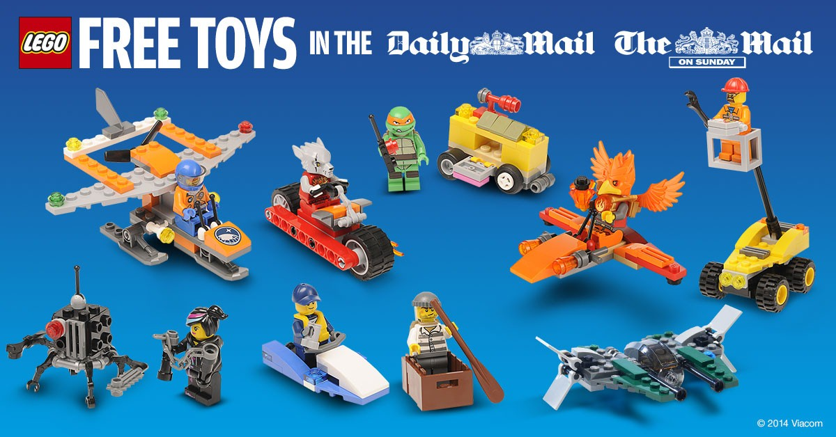 Daily Mail Promotion Brickset LEGO Set Guide And Database