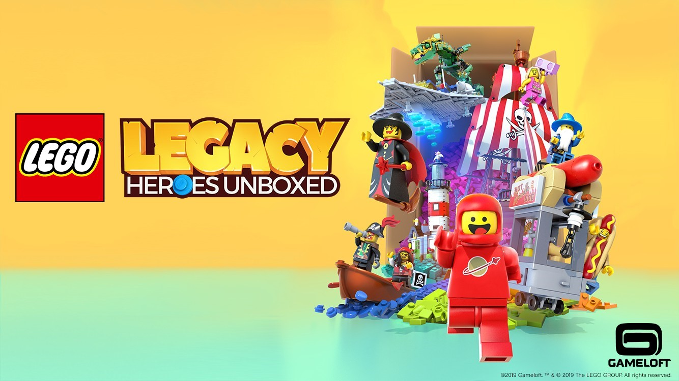 See which sets and minifigs are in LEGO Legacy: Heroes Unboxed