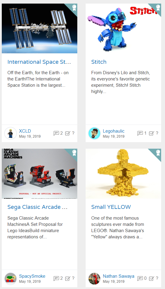 Lego Ideas - Σελίδα 23 Projects