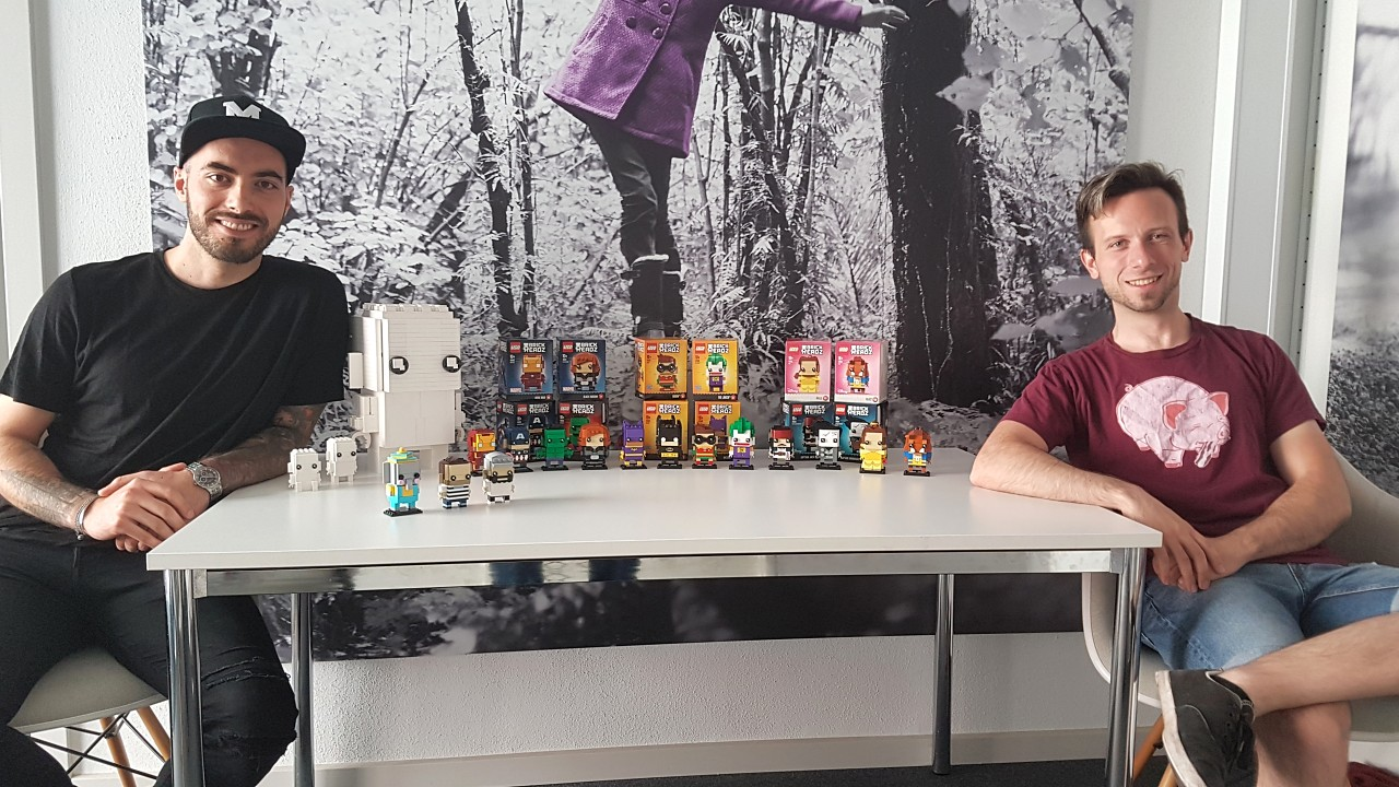 Interview with BrickHeadz designers Austin and Marcos
