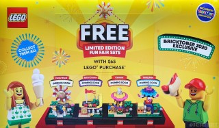 This year's Bricktober sets revealed