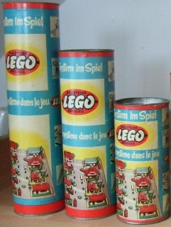 Swiss canister sets from the 50s and 60s