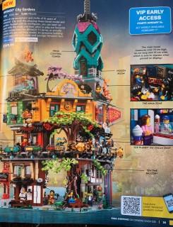 First legitimate picture of Ninjago City Gardens!