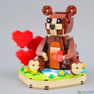 Review: 40462 Valentine's Brown Bear