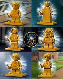 Harry Potter golden Minifigures revealed!