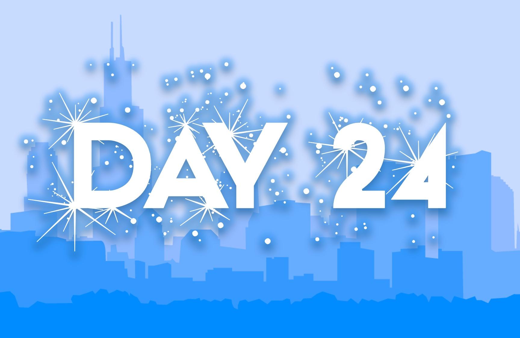 City Advent Calendar  - Day 24